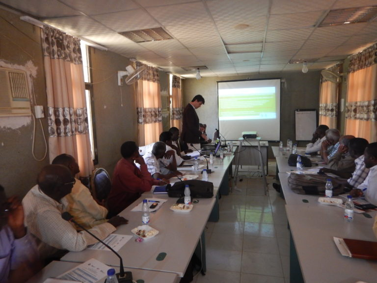 Sud Sudan_Guidelines Project_Workshop Kassala
